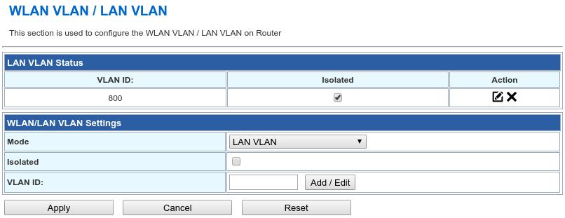 Wive-NG-MT - Настройка VLAN